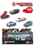 Robots in Disguise Набор 5 машинок Die-Cast, арт.3113007